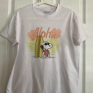 Blue notes Snoopy Short Sleeve T-shirt